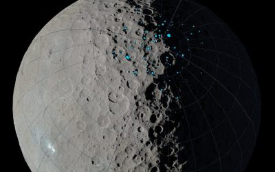 UH Astronomers Examine Ice Trapped on Pluto's Ceres