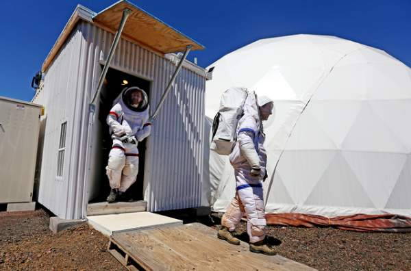 Mars Simulation Ends after 1 Year on Mauna Loa