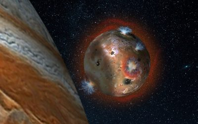 Gemini Telescope finds Jupiter Moon Io's Atmosphere Collapses and Reforms