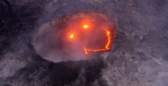 The Science Behind Hawaii's 'Smiley Face' Volcano