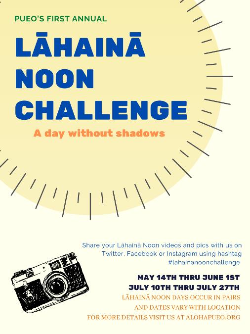 Lāhainā Noon Challenge